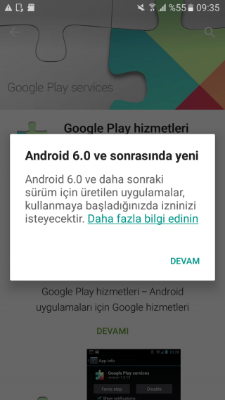 Google Play Android 6.0.1