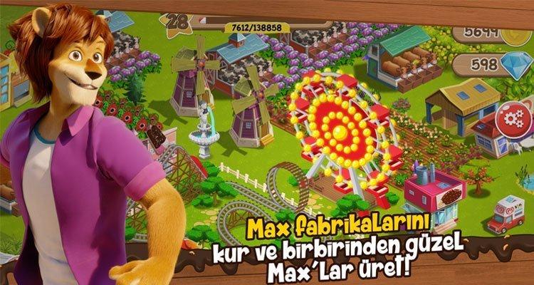 Çocukların Dikkatini Geliştiren Oyun - Aslan Max'ın Fabrikası