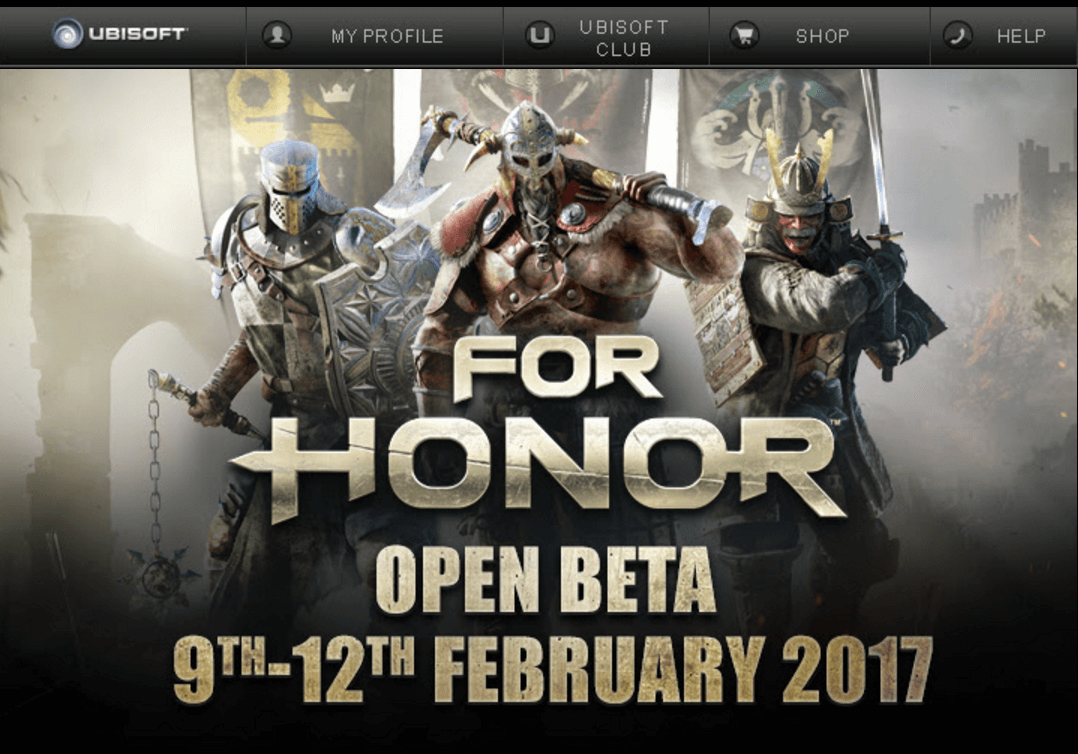 For Honor Açık Beta