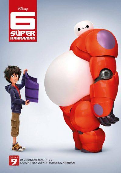Animasyon Önerisi - 6 Super Kahraman