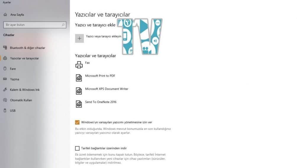 Yazıcıyı Sistemden Tamamen Kaldırma - TechnoVadi